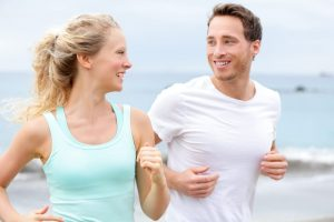 Fitness Singles review couple running